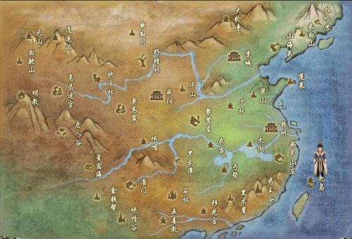 三国志11水浒地图