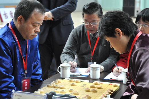 象棋年终总决赛半决赛 赵国荣大战洪智
